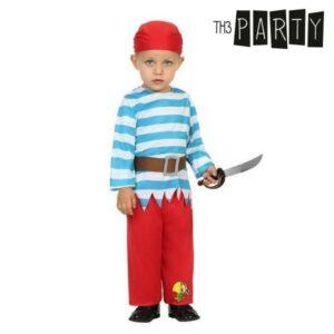Fantasia para Bebés Pirata (3 Pcs) 12-24 Meses