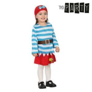Fantasia para Bebés Pirata (3 Pcs) 6-12 Meses