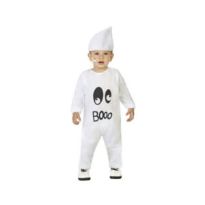 Fantasia para Bebés Fantasma Branco (2 Pcs) 6-12 Meses