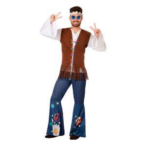Fantasia para Adultos 110077 Hippie XS/S