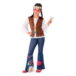 Fantasia para Crianças 110978 Hippie 7-9 Anos