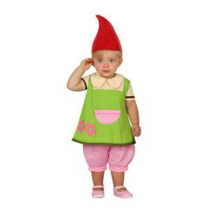 Fantasia para Bebés 112889 Gnomo Verde (3 Pcs) 24 Meses