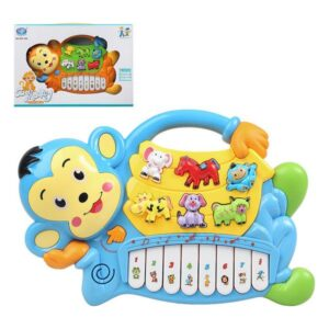 Piano Interativo para Bebé Cute Monkey