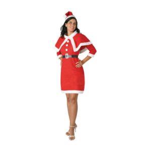 Fantasia para Adultos 115727 Mãe natal Vermelho XS/S
