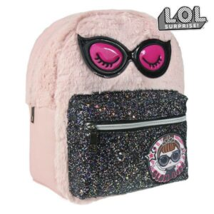 Mochila Casual LOL Surprise! 72768 Cor de rosa Preto
