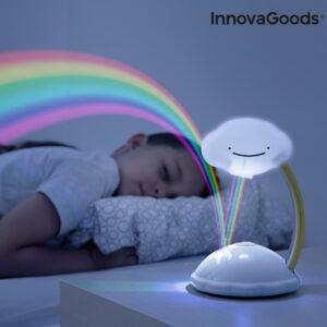 Projetor LED Nuvem Arco-íris Libow - VEJA O VIDEO