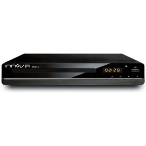 Reprodutor de DVD Innova 41860 LED DISPLAY HDMI USB DVD+RW