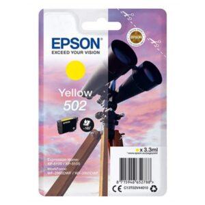 Tinteiro de Tinta Original Epson C13T02V Preto 4,6 ml