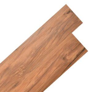 Tábuas de soalho PVC auto-adesivo 5,02 m² 2 mm olmo natural - PORTES GRÁTIS