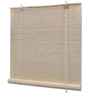Estore/persiana em bambu 150x160 cm natural - PORTES GRÁTIS