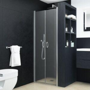 Portas de duche ESG opaco 80x185 cm - PORTES GRÁTIS