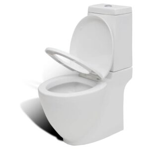 Vaso sanitário ceramico quadrado branco - PORTES GRÁTIS