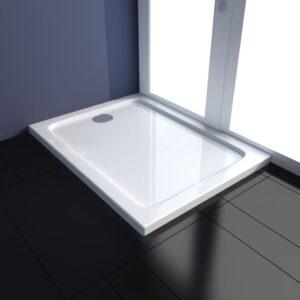 Base de chuveiro retangular ABS 70 x 90 cm  - PORTES GRÁTIS