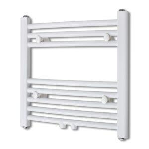 Aquecedor toalhas banheiro curvo 480 x 480 mm conector lateral e centro  - PORTES GRÁTIS