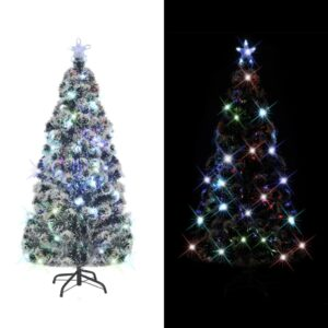 Árvore de Natal artificial com suporte/LED 210 cm 280 ramos - PORTES GRÁTIS
