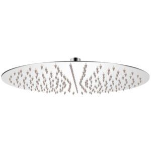 Cabeça de chuveiro redonda em aço inoxidável 40 cm - PORTES GRÁTIS