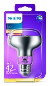 Philips - Lâmpada LED 42W R80 E27 WW ND SRT4