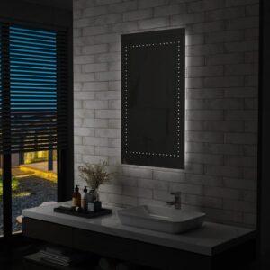 Espelho de parede LED para casa de banho 60x100 cm - PORTES GRÁTIS