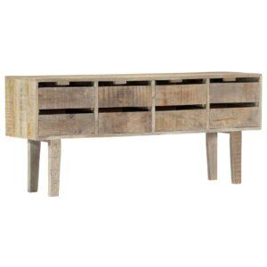 Aparador 140x30x60 cm madeira de mangueira maciça  - PORTES GRÁTIS