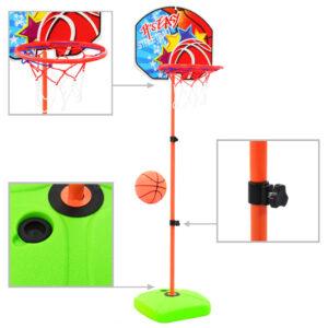Conjunto de tabela e bola de basquetebol infantil - PORTES GRÁTIS