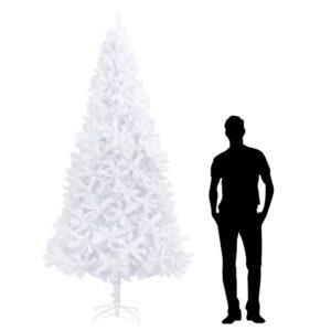 Árvore de natal artificial 300 cm branco - PORTES GRÁTIS