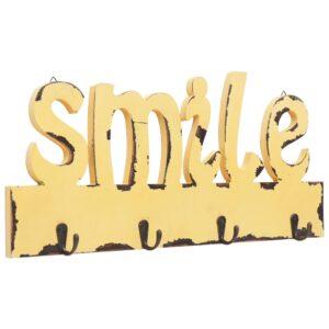 Cabide de parede SMILE 50x23 cm - PORTES GRÁTIS