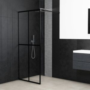 Divisória de chuveiro vidro temperado 140x195 cm - PORTES GRÁTIS