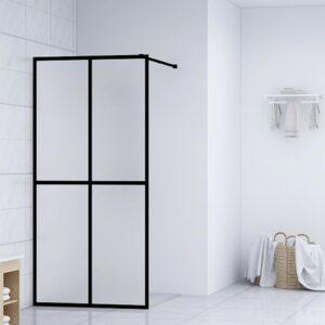 Divisória de chuveiro vidro temperado 90x195 cm - PORTES GRÁTIS
