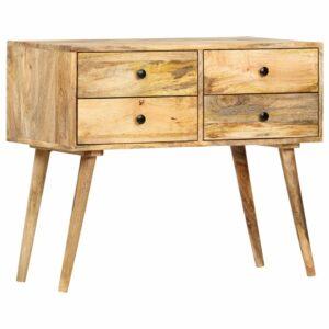 Aparador 85x40x71 cm madeira de mangueira maciça  - PORTES GRÁTIS