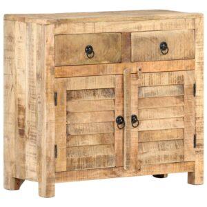 Aparador 70x30x68 cm madeira de mangueira maciça - PORTES GRÁTIS