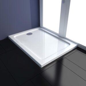 Base de chuveiro 70x90 cm ABS branco - PORTES GRÁTIS