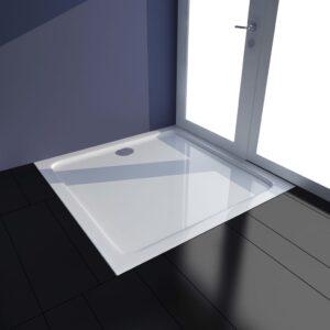 Base de chuveiro 80x80 cm ABS branco - PORTES GRÁTIS