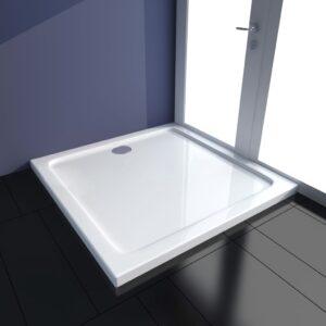 Base de chuveiro 90x90 cm ABS branco - PORTES GRÁTIS