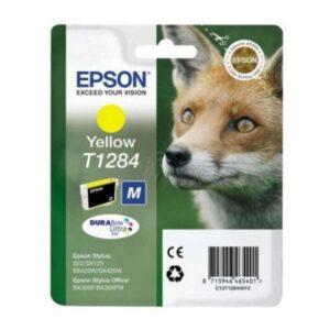 Tinteiro de Tinta Original Epson C13T128440 Amarelo