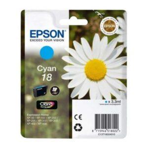 Tinteiro de Tinta Original Epson C13T18024010 Ciano