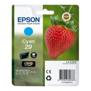 Tinteiro de Tinta Original Epson C13T298240 Ciano