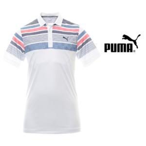 Puma® Polo Golf Jersey Stripe | Tamanho L