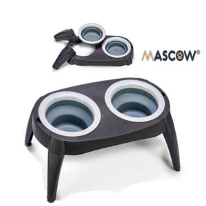 Comedouro Silicone Mascow Cinzento - 40 x 3,5 x 22 cm