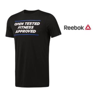 Reebok® T-shirt CrossFit Open Tested   Tamanho L