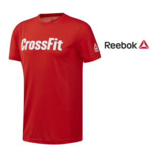 Reebok® T-shirt Forging Elite Fitness Speedwick Red