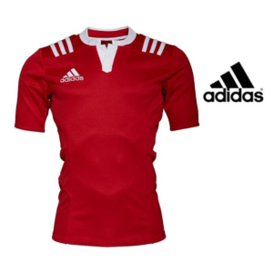 Adidas® T-Shirt Stripes Fitted Rugby