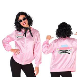 Fantasia para Adultos Anos 50 Cor de rosa (1 Pcs) XL