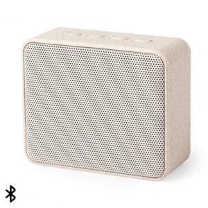 Altifalante Bluetooth 3W Cana de trigo Abs Natural