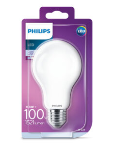 Philips - Lâmpada LED 100W-11.5W E27