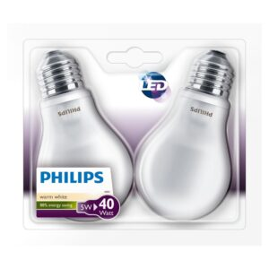 Philips - Lâmpadas LED E27 - 40W-4W 2-pack
