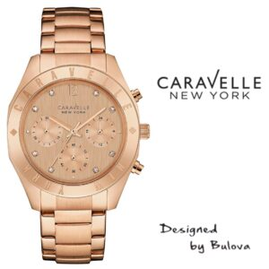 Relógio Caravelle New York® 44L189 - Designed by Bulova