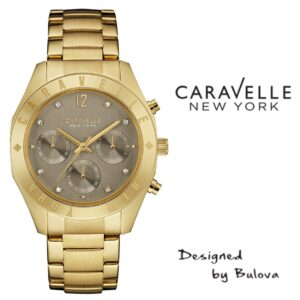 Relógio Caravelle New York® 44L191 - Designed by Bulova
