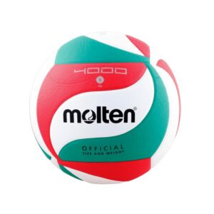 Molten® Bola de Voleibol V5M4000 Couro Sintético (Tamanho 5)