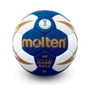 Molten® Bola de Andebol H3X5001 Couro Sintético (Tamanho 3)