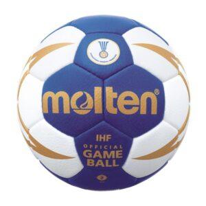 Molten® Bola de Andebol H2X5001 Couro Sintético (Tamanho 2)